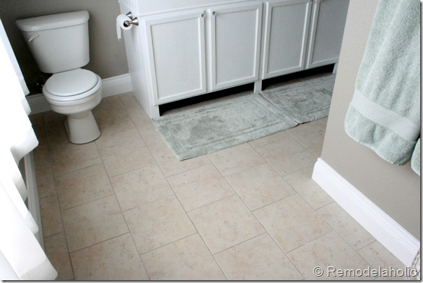 Fancy New Tile In Master Bathroom Remodelaholic