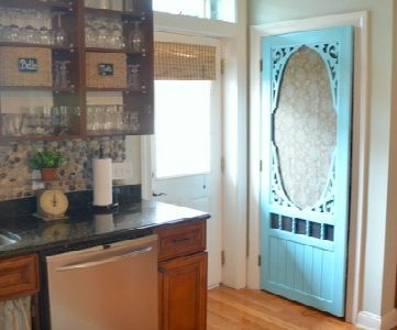 Home Sweet Home on a Budget:  Pretty Pantry Doors