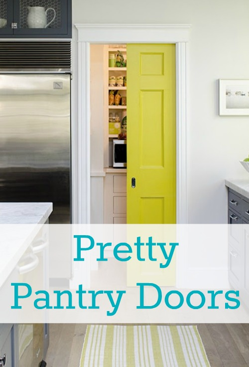good Cute Pantry Doors Part - 3: Donu0027t forget to have your kitchen projects ready to linkup here on  Saturday, July 28th. Cassity and I canu0027t wait to see what youu0027ve been doing  to improve ...