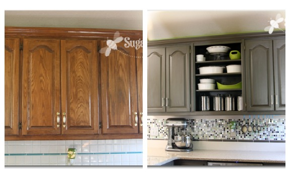 Remodelaholic home sweet home on a budget kitchen for Kitchen cabinets makeover
