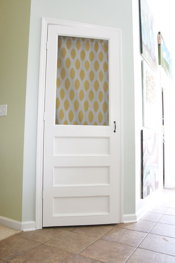 Pretty Pantry Door