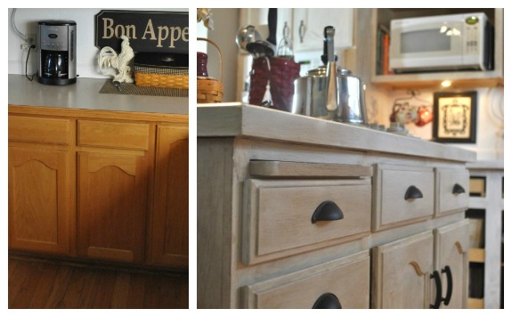 Old Kitchen Cabinets Makeover Tudor Style Kitchen Featured