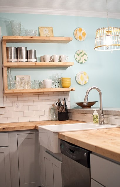 home sweet home on a budget kitchen project linkup diy