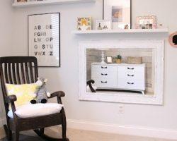 boys-bedroom-grey-nursery-chevron-curtains-remodelaholic.com (600x303)