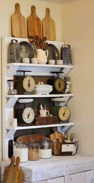 door shelf decor