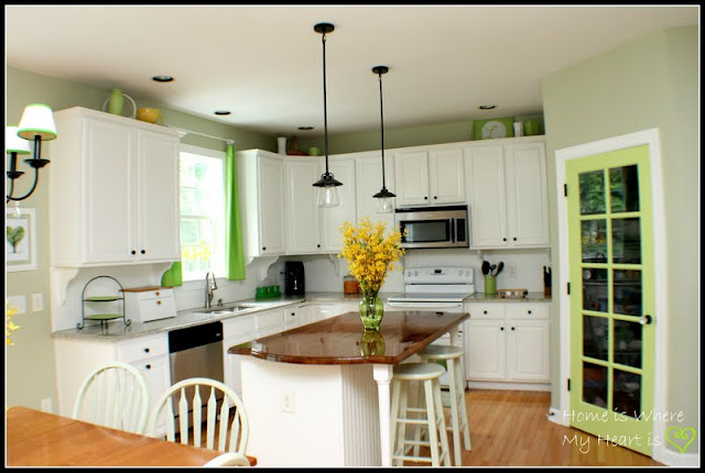 Interesting Submitted With Yellow Kitchen Accents