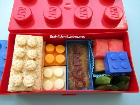 Lego Bento lunch idea