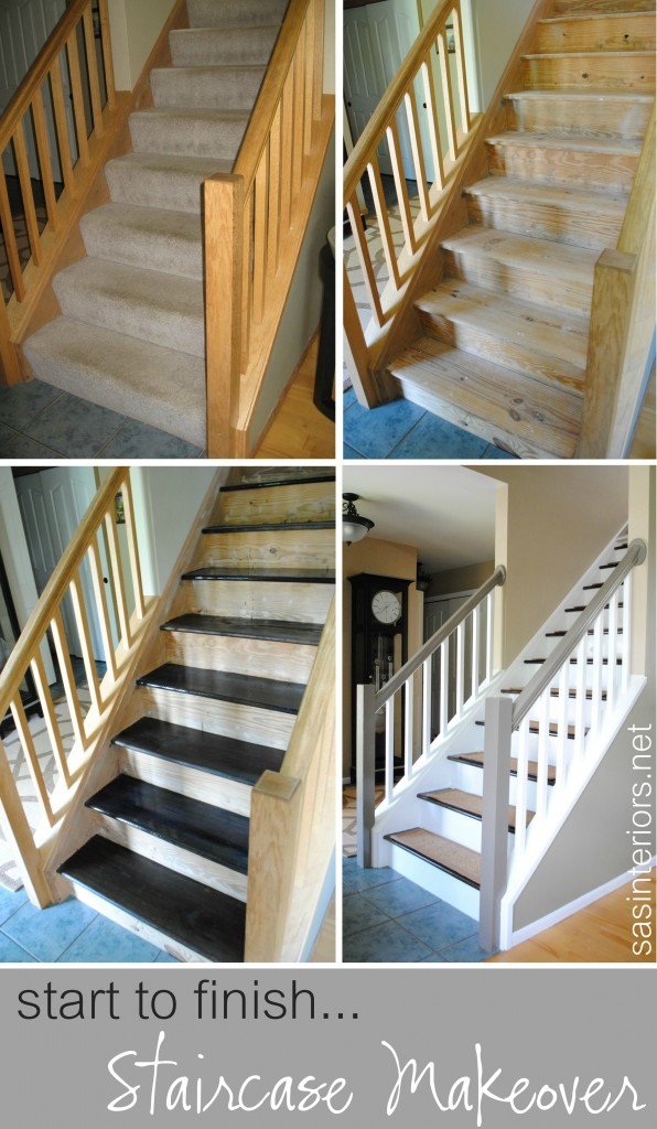 Carpeted Stairs To Wood
