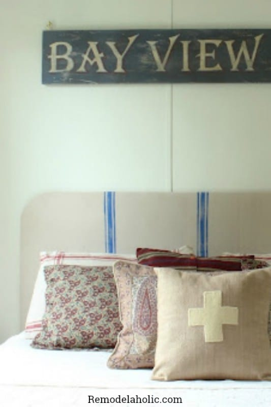 Awesome Headboards You Can Make Yourself Featured On @Remodelaholic & 25 Great DIY Headboard Ideas