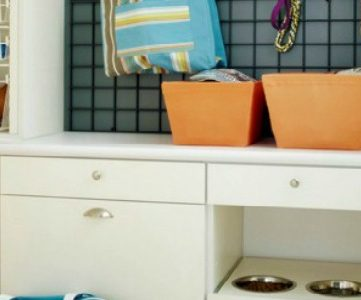 Home Sweet Home on a Budget:  Laundry and Mudroom Linkup