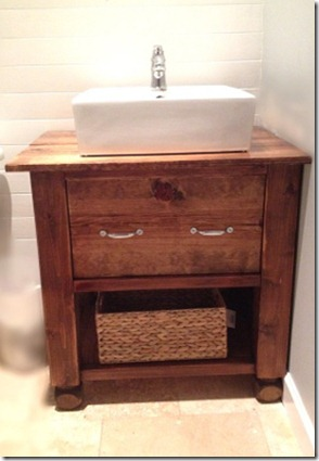 Build your own potterbarn inspired vanity