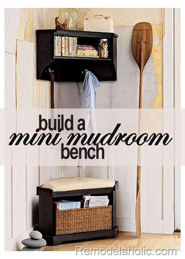 small storage bench plans