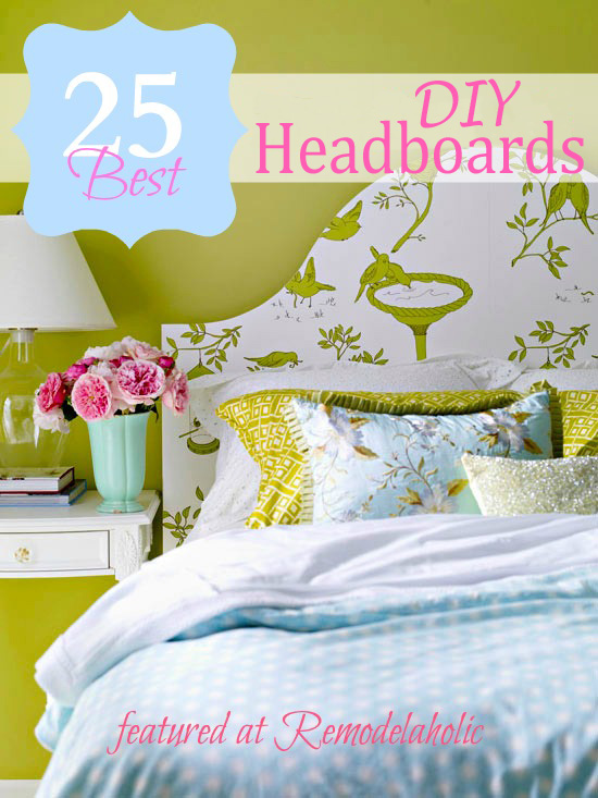 25 Great DIY Headboard Ideas