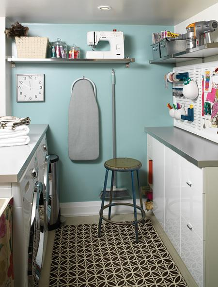 Laundry and Mudroom Ideas and Link Party