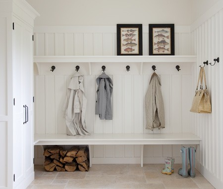 Great real life mudrooms for Interieur ideeen hal
