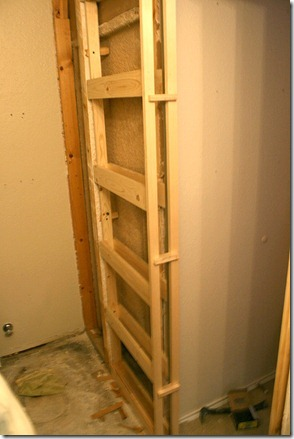 how to install a pocketdoor kit by Remodelaholic.
