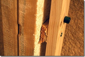 How to use shims to ensure a proper fit for a pocket door by Remodelaholic