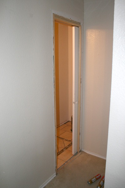 Pocket Door Installation by Remodelaholic