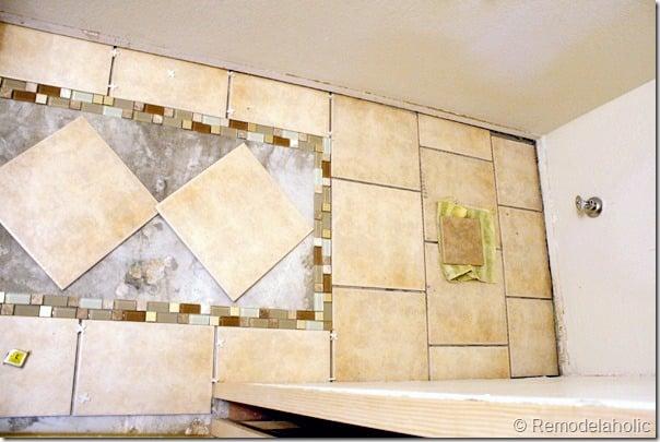 Inlaid tile rug tutorial (10)