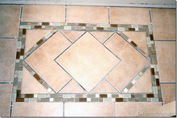 Inlaid tile rug tutorial (18)
