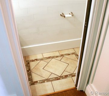 Inlaid Tile Rug Tutorial