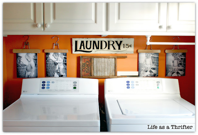 Great hardworking laundry room ideas - Organizing small spaces cheap paint ...