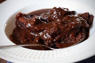 Hot fudge cake recipe microwave