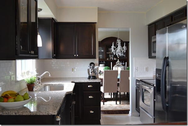 black kitchen cabinets reveal