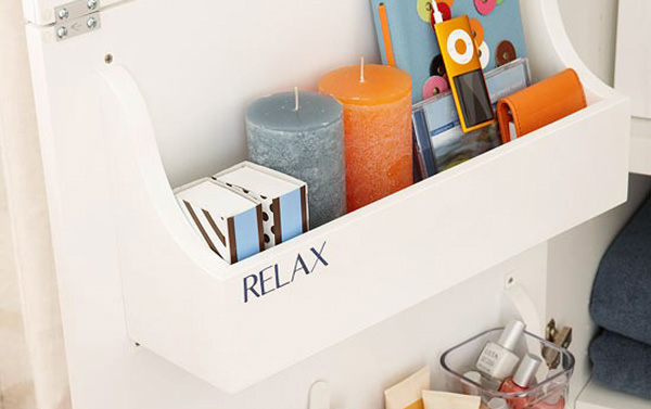 cabinet door storage bins plan