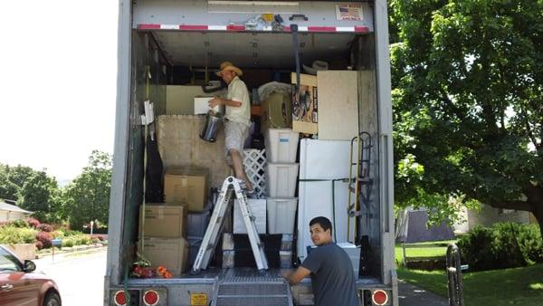 moving unloading