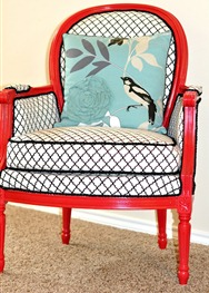 the-hot-seat-chair-reupholster-transformation-cute-fabric-red-accent-remodelaholic.com_