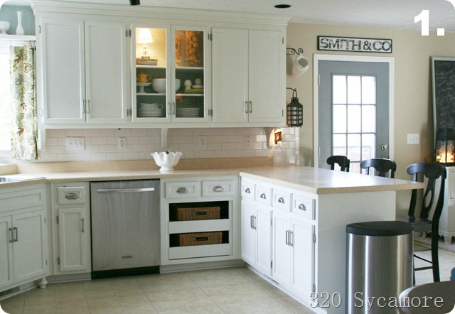 Kitchen Makeovers On A Budget Before And After remodelaholic | big kitchen makeover on a little budget