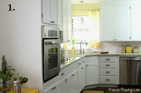 1950 Kitchen Cabinets remodelaholic | light and bright 1950's ranch kitchen makeover
