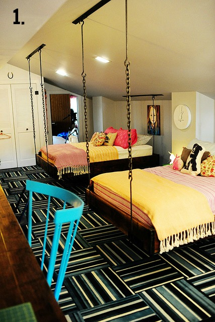 Good It us a fresh spin on the classic bunkbed and one that us not too hard for DIYers to recreate Is this a bedroom look that us new to you
