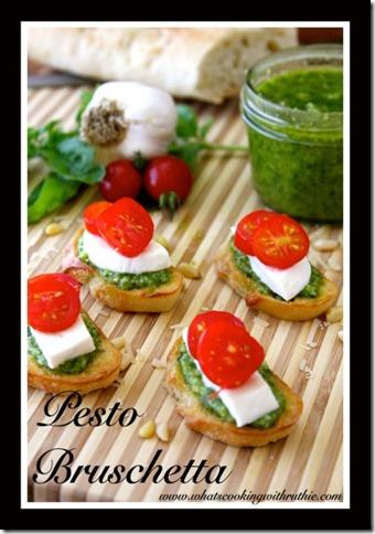 2 Pesto-Bruschetta-Recipe