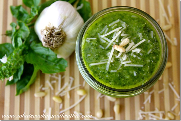 3 Homemade-Pesto- recipe