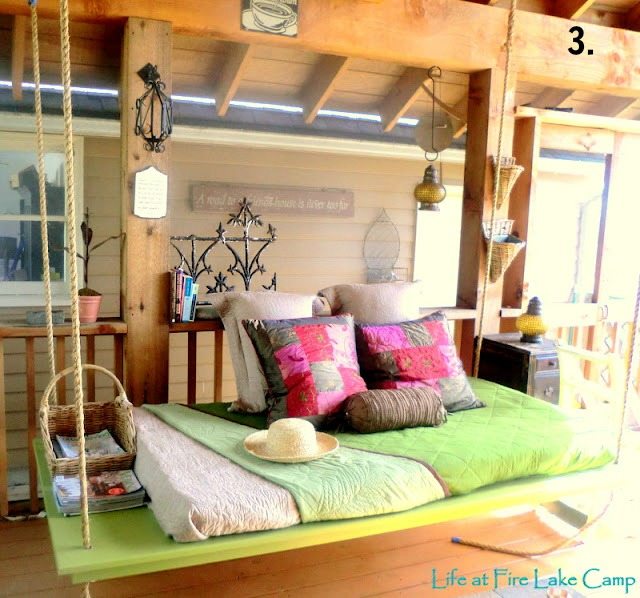 remodelaholic diy hanging loft bed in a girl 39 s bedroom