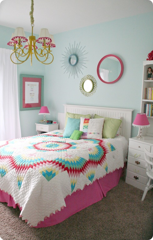 Remodelaholic Little Girl S Pink Bedroom: Home Sweet Home On A Budget: Girls