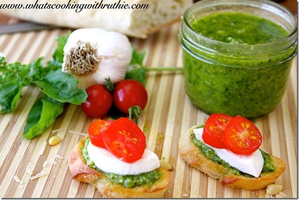 5 Pesto-Bruschetta-Recipe