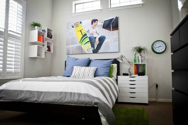 Remodelaholic home sweet home on a budget bedrooms for boys Bedroom designs for teenagers boys