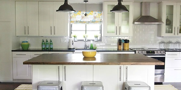 Remodelaholic light and bright 1950 39 s ranch kitchen makeover for Rambler kitchen remodel ideas