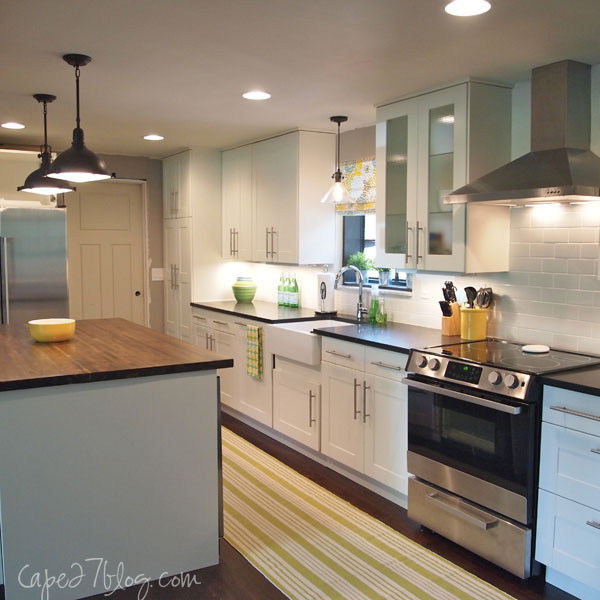 Light And Bright 1950's Ranch Kitchen Makeover