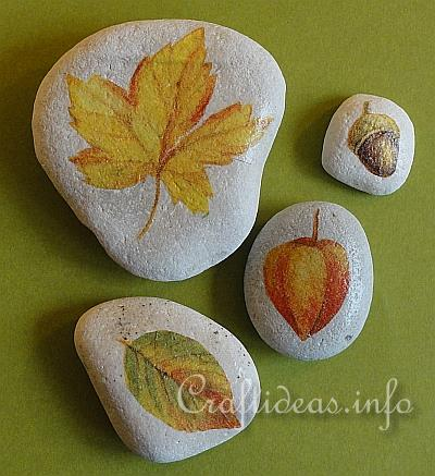 Craft Ideas Videos on Craft Ideas Leaf Paperweights