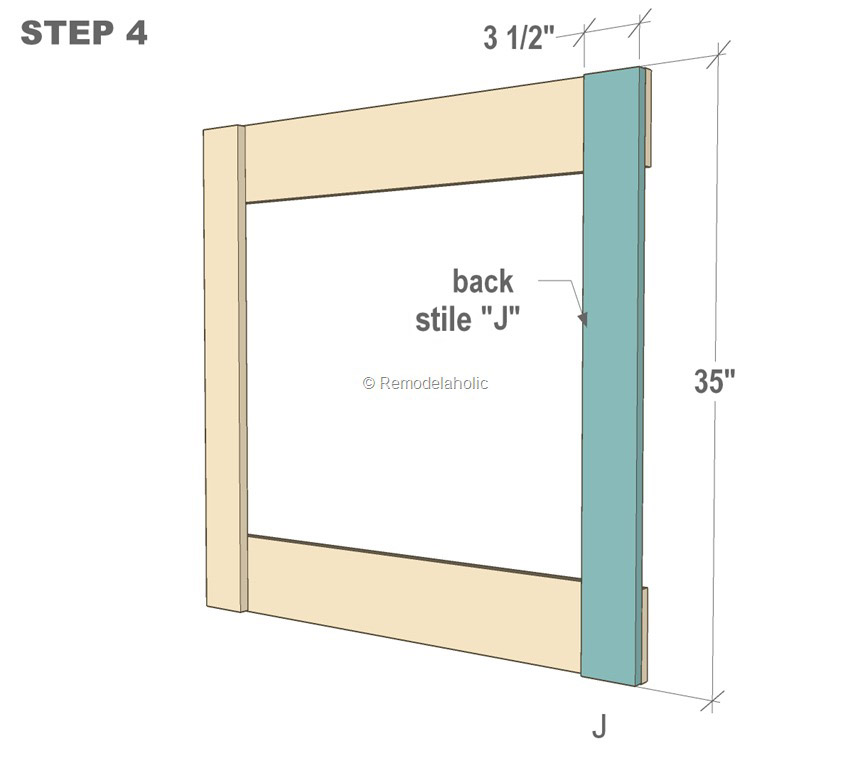 Free plans diy barn door baby gate for stairs for Wooden back door and frame