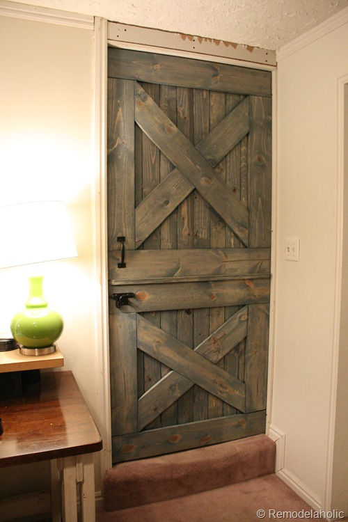 Remodelaholic Diy Dutch Barn Door