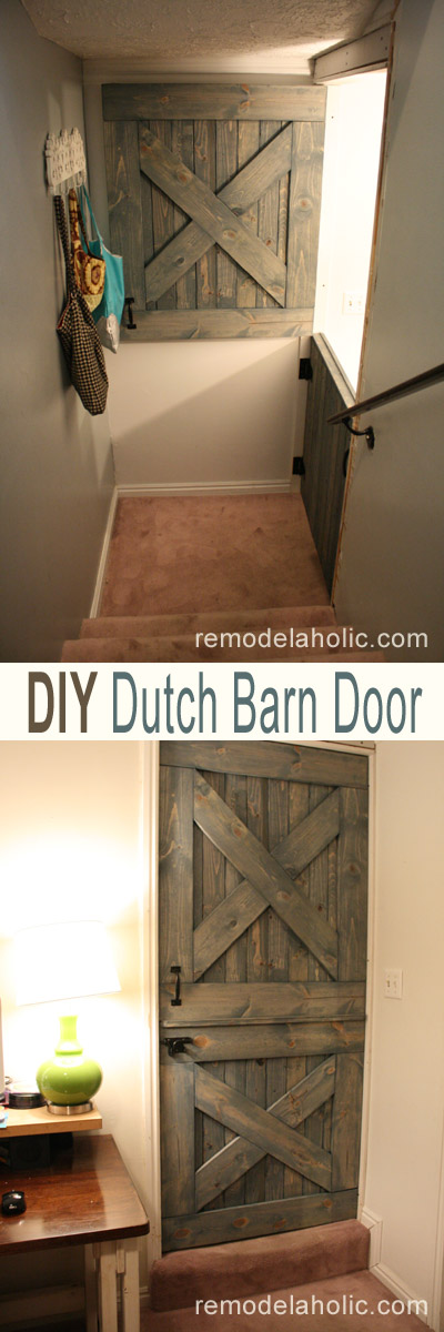 Remodelaholic | DIY Dutch Barn Door