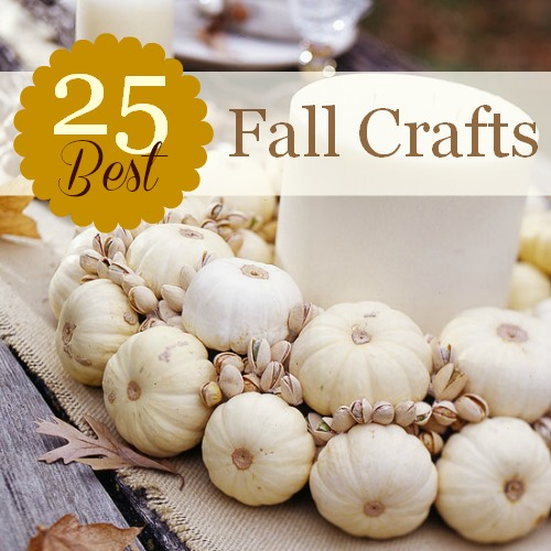 25 Best Fall Crafts Construction Haven Home Business