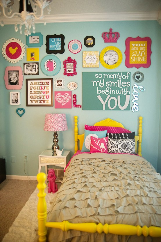 Remodelaholic Home Sweet Home on a Budget Girls Bedrooms and a
