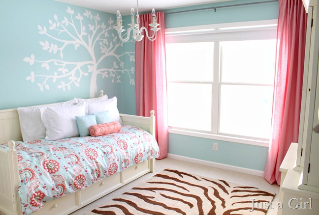 This Bedroom From Just A Girl Puts A Fresh Fun Twist On The
