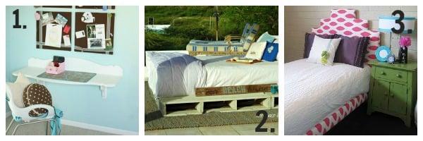Remodelaholic Diy Hanging Loft Bed In A Girl S Bedroom